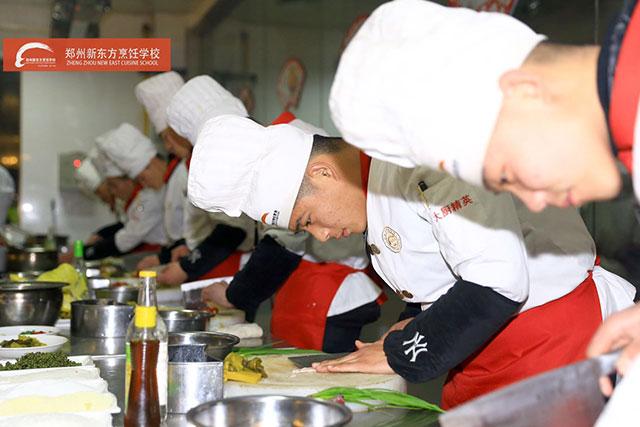 新东方烹饪学校学厨师学费多少钱?图片