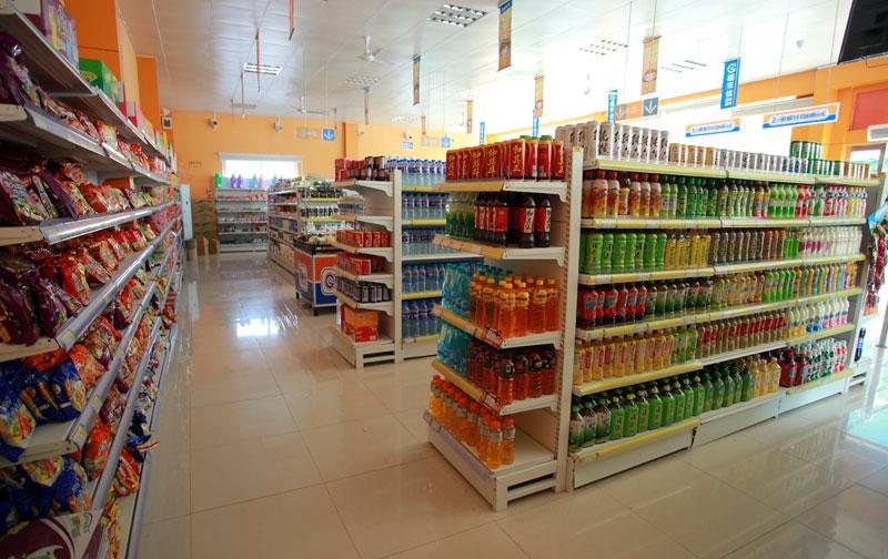 福来佳连锁超市内景